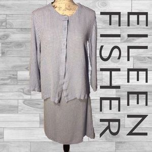 Name your price Eileen Fisher patterned skirt set